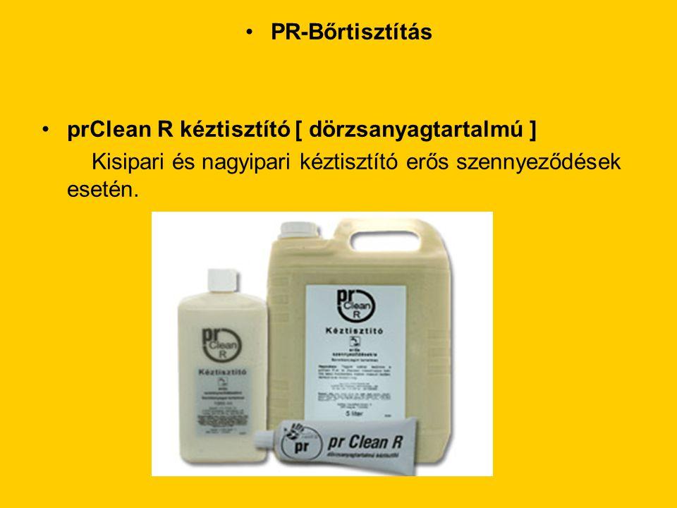 PR-Bőrtisztítás prClean R kéztisztító [ dörzsanyagtartalmú ] Kisipari és nagyipari kéztisztító erős szennyeződések esetén.